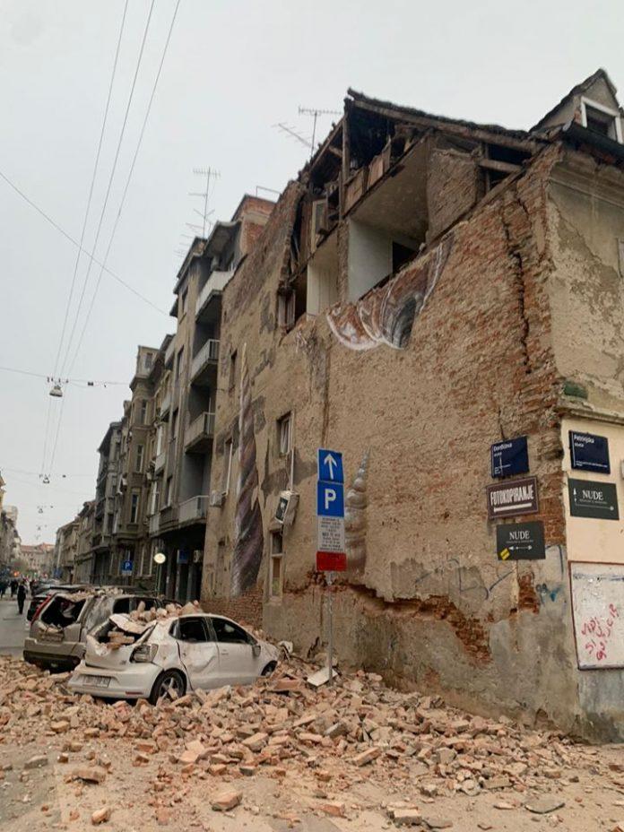 Mocan Potres V Zagrebu Moja Dolenjska